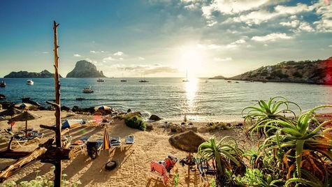 Ibiza är hett.