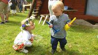 Semestra med barn i Sverige